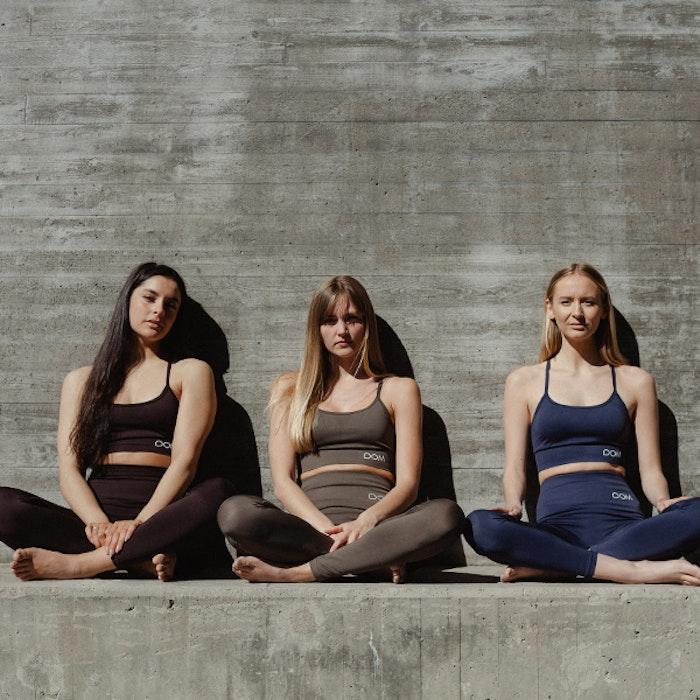 Yogaleggings Seamless CORA Dark Blue - DOM