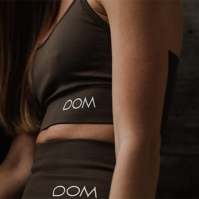 Sport-BH Yoga Seamless Trinity Dark Olive - DOM
