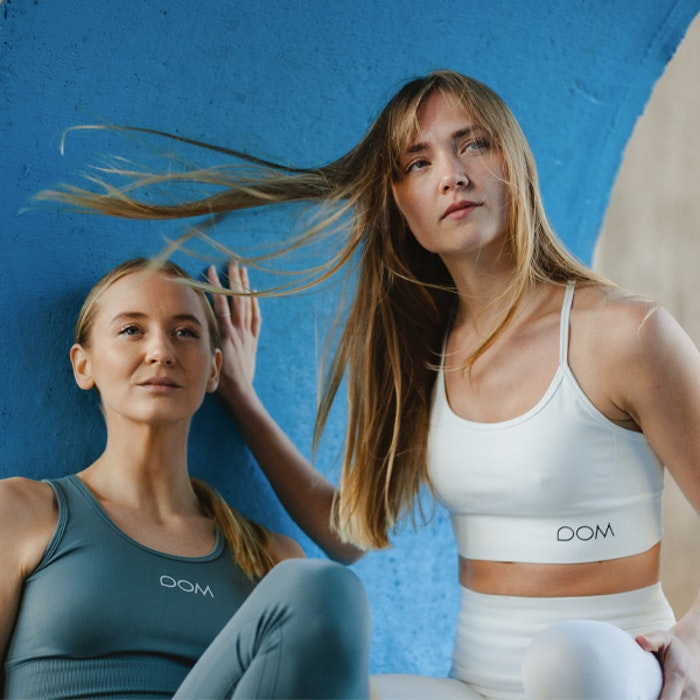 Yogaleggings Seamless CORA Cloud - DOM