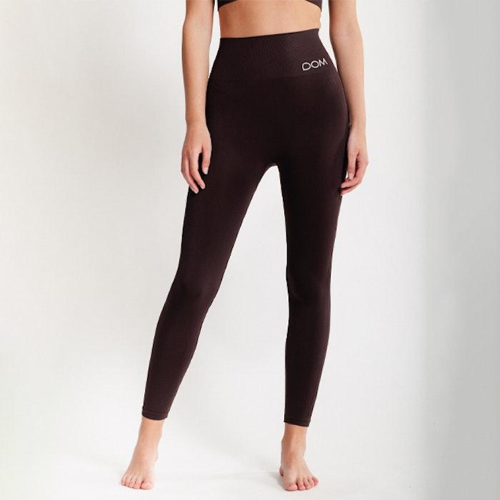 Yogaleggings Seamless CORA Dark Brown - DOM