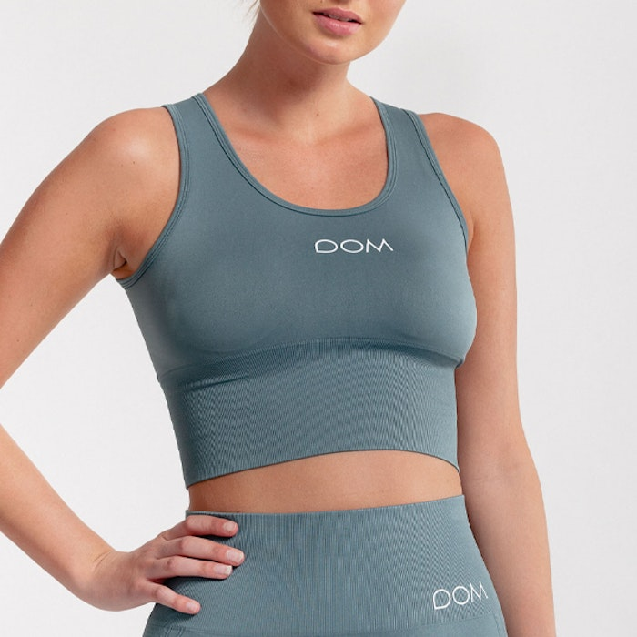 Sport-BH Crop Top Seamless June Deep Sea - DOM