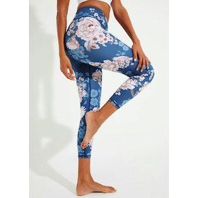 Yogaleggings Spring Garden High Waist 7/8 - Dharma Bums