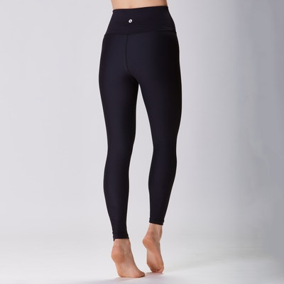 Yoga leggings Classic High waisted 7/8 Black - Sisterly