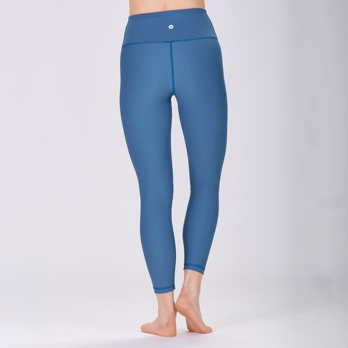Yoga leggings Classic High waisted 7/8 Pine Blue - Sisterly