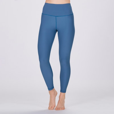 Yoga leggings Classic High waisted 7/8 Pine Blue - Sisterly