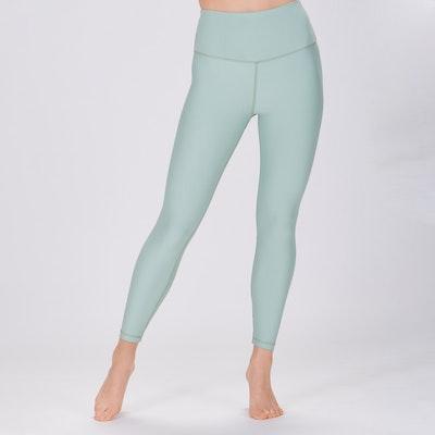 Yoga leggings Classic High waisted 7/8 Pistachio Green - Sisterly
