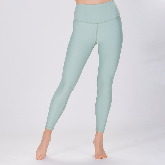 Yoga leggings Classic High waisted 7/8 Pistachio Green - Sisterly
