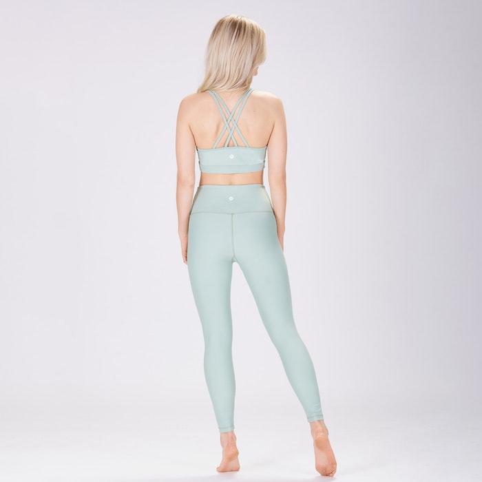 Sport-BH Yoga Classic double thin strap Pistachio Green - Sisterly