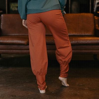 Byxor Aladin Pants Baked Clay - Yogia