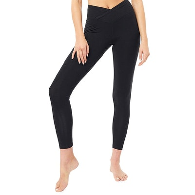 Yogaleggings Envelope Tights Black - Mandala