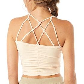 Yogalinne Cable Bra Corn - Mandala