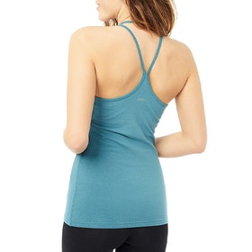 Yogalinne Extra Long Top Bolshoi Green - Mandala