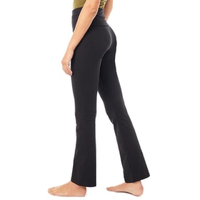Yogaleggings Classic Rolldown Black - Mandala