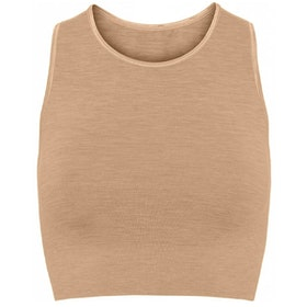 Seamless Crop Top Camel - Moonchild Yogawear