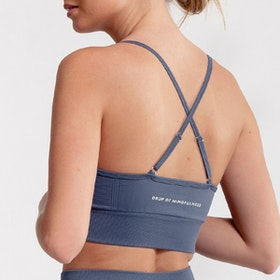 Sport-BH Yoga Seamless Trinity Faded Blue - DOM