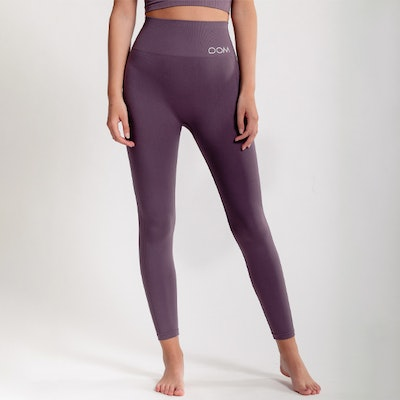 Yogaleggings Seamless CORA Dusty Plum - DOM