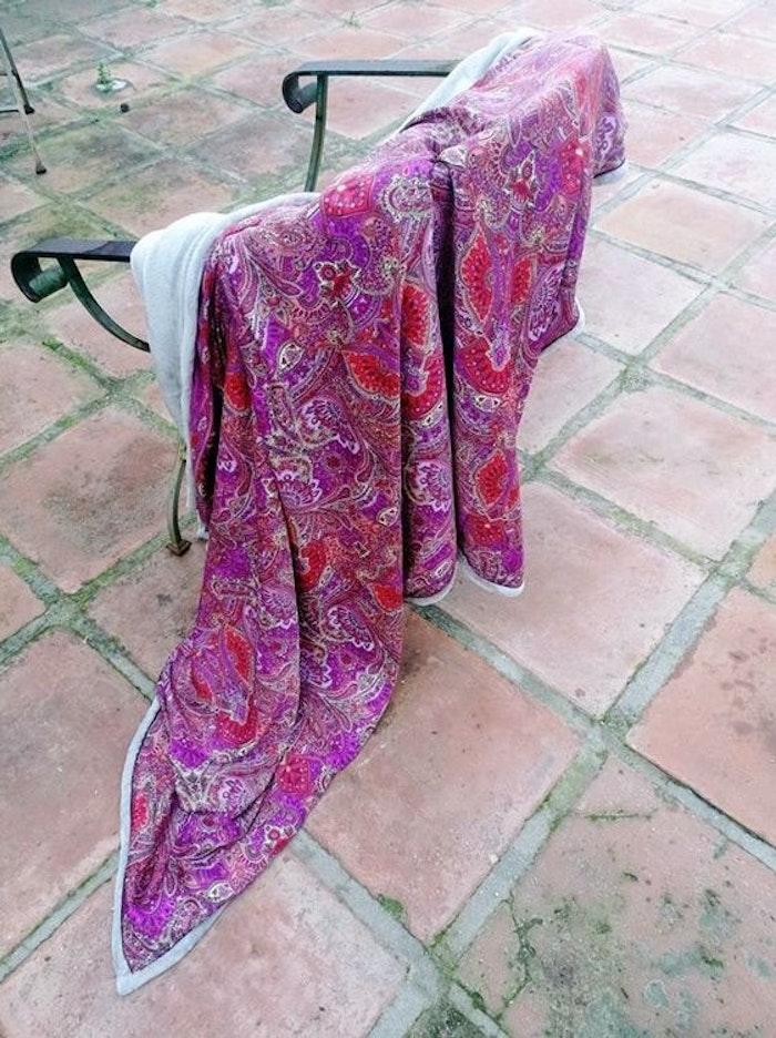 Yogafilt Sari/silke Pinkish Moment - E-swiss