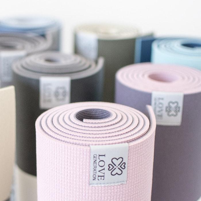 Yogamatta Premium Enchanting Pink 6mm - Love Generation