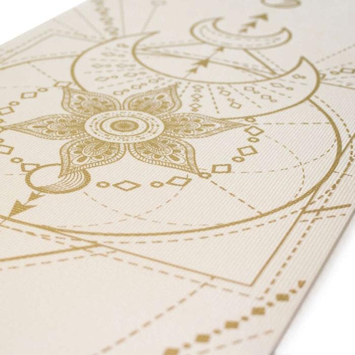 Yogamatta Sacred Extra Thick Ivory White 6mm - Love Generation