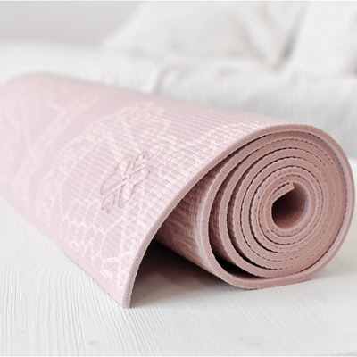 Yogamatta Lotus Extra Thick Pink 6mm - Love Generation