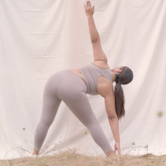 Sport-BH Yoga Paloma Limestone - Girlfriend Collective