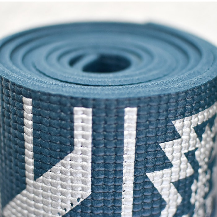 Yogamatta Tribal Extra Thick Dark Blue 6mm - Love Generation