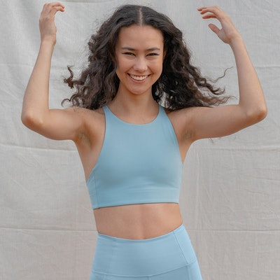 Sport-BH Yoga Topanga Sky - Girlfriend Collective