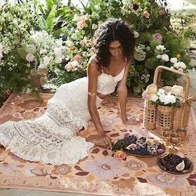 Picknick filt Grande Fleur Dawn - Wandering Folk