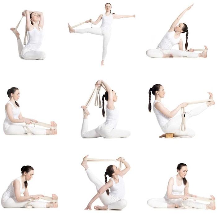 Yogabälte Full Color Birds - Love Generation