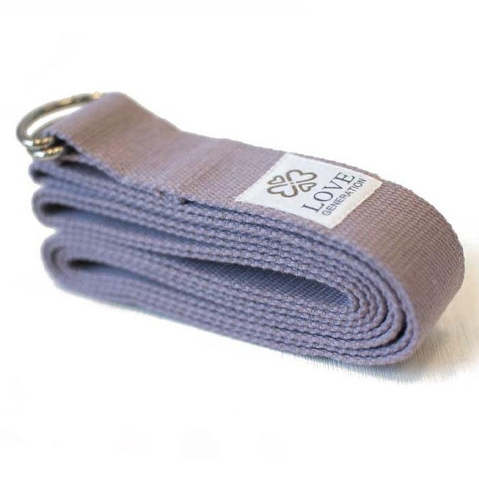 Yogabälte Cotton Violet - Love Generation