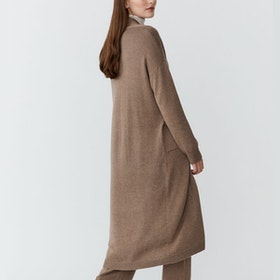 Cardigan Cozy Brown - Movesgood