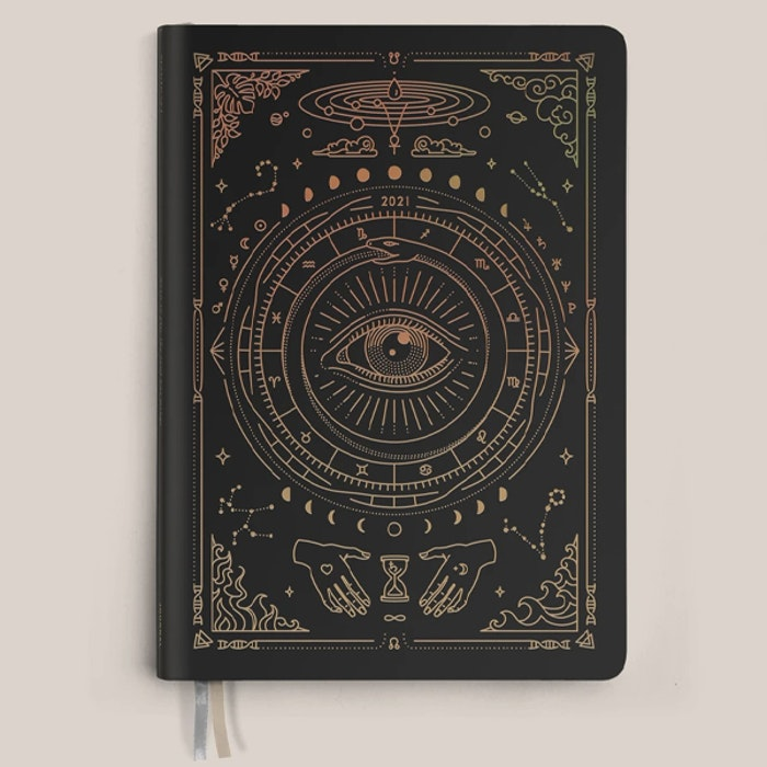Kalender 2021 Astrological Planner Black - Magic of I