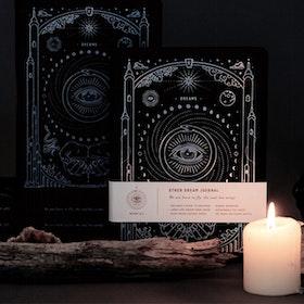 Dagbok Ether Dream Journal Black Silver A5 - Magic of I