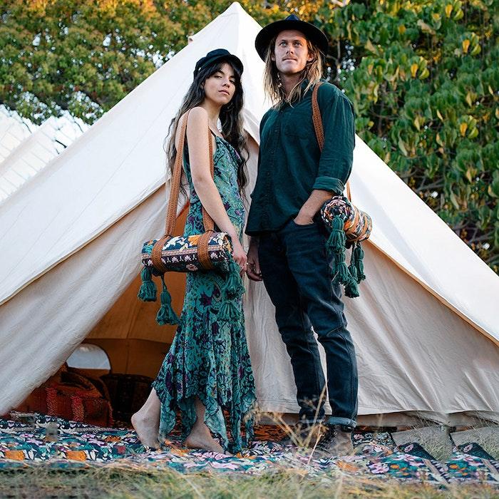 Picknick filt Emerald Forest - Wandering Folk