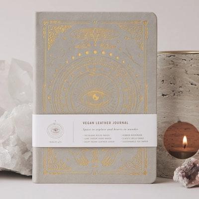 Dagbok Vegan Leather Unlined Stone - Magic of I