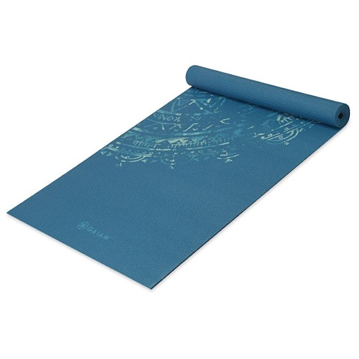 Yogamatta 4mm Jade Mandala - Gaiam