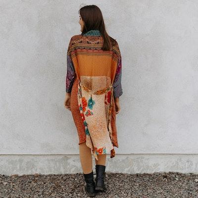 Kimono Magnolia long Nr 169 - Sissel Edelbo