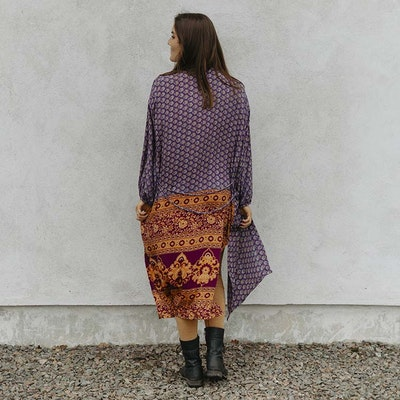 Kimono Morning Glory Long Pocket Nr 188 - Sissel Edelbo