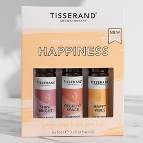"Yogaoljor Roller ""The Little Box of Happiness"" 3-pack oljor - Tisserand Aromatherapy"
