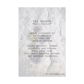 "Fotokonst ""Old Wisdom"" 50x70cm - Soul Image"