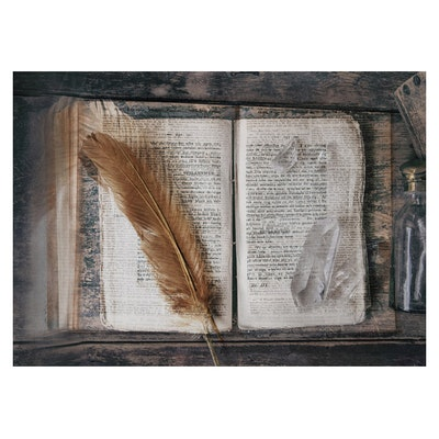 """Fotokonst """"Sacred Magic"""" 50x70cm - Soul Image"""
