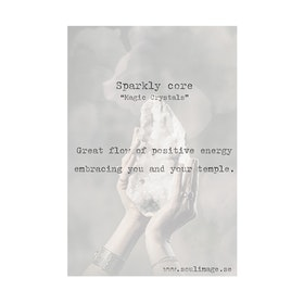 """Fotokonst """"Sparkly Core"""" 50x70cm - Soul Image"""