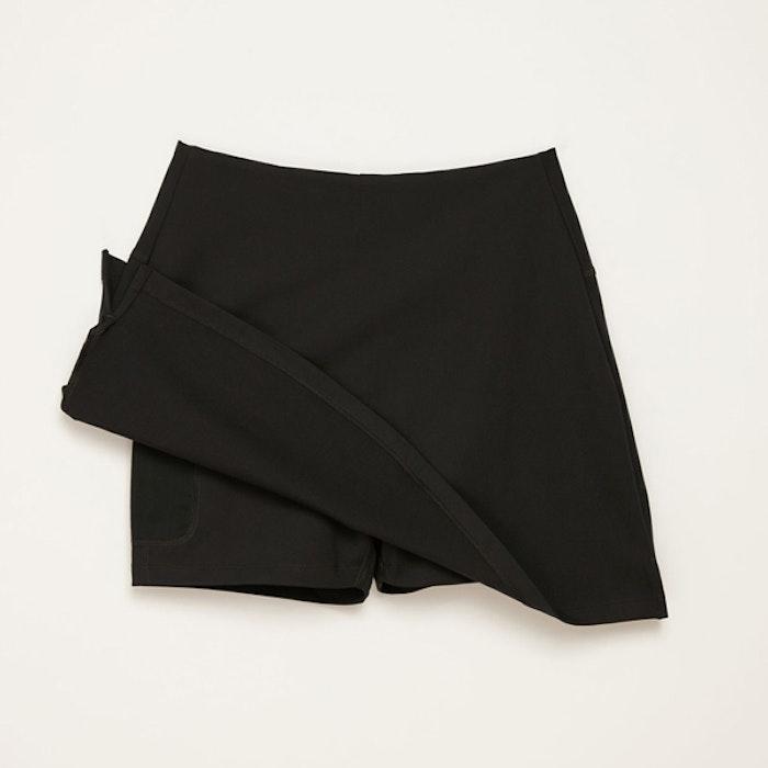 The skort kjol/shorts Black - Girlfriend Collective
