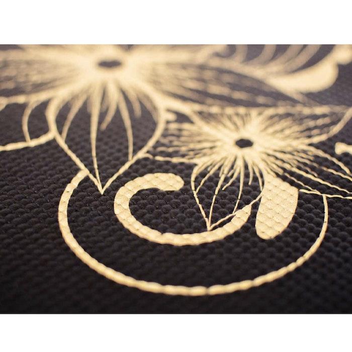 Yogamatta Legendary Extra Thick Black Gold 6mm - Love Generation