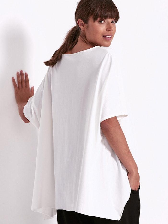 Yogatröja Oversized Drape Tee White - Dharma Bums