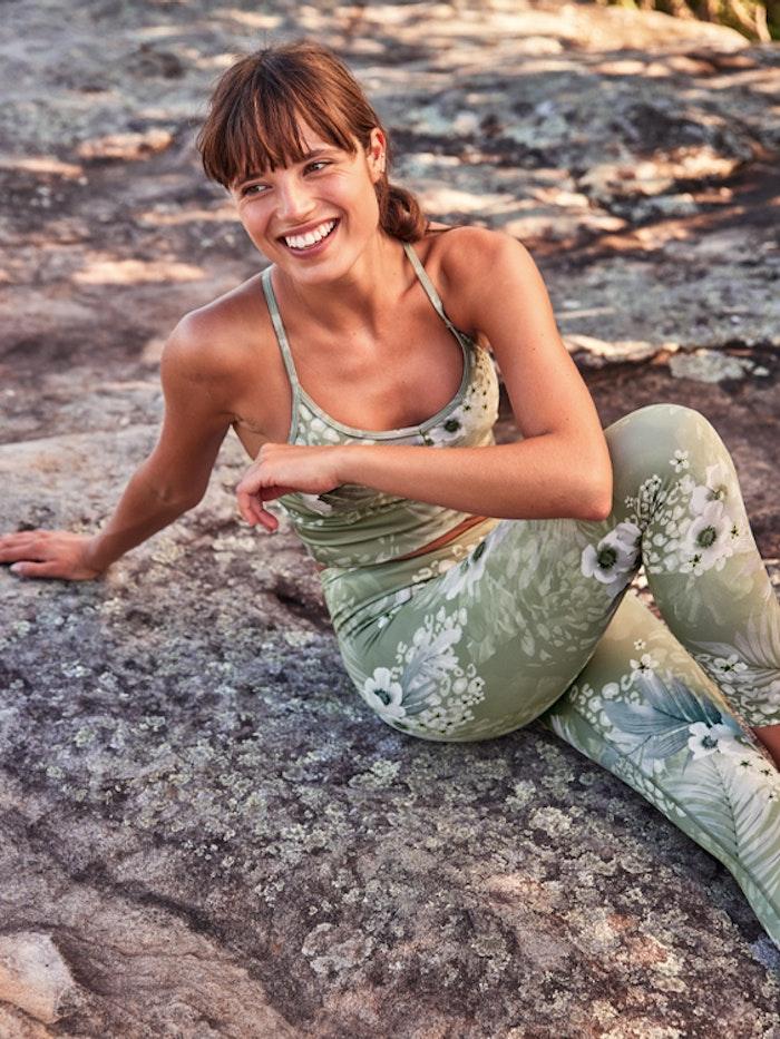 Sport-BH Yoga Ella Crop Surfside - Dharma Bums