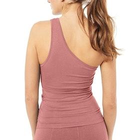 Yogalinne One Shoulder Top Negligée - Mandala