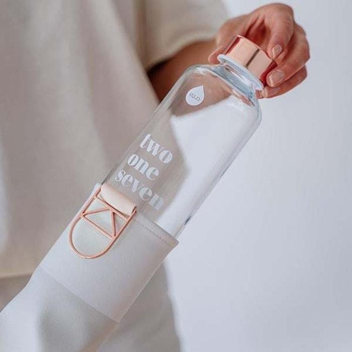 Vattenflaska Mismatch Sage i glas - Equa