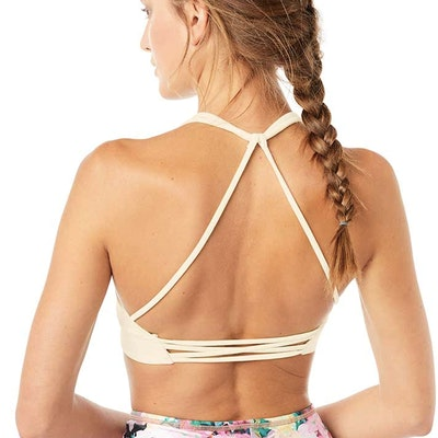 Yoga-BH Neckholder Bra Corn - Mandala