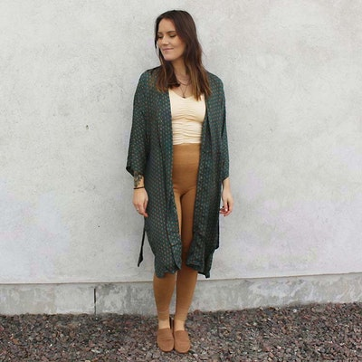 Kimono Magnolia long Nr 194 - Sissel Edelbo